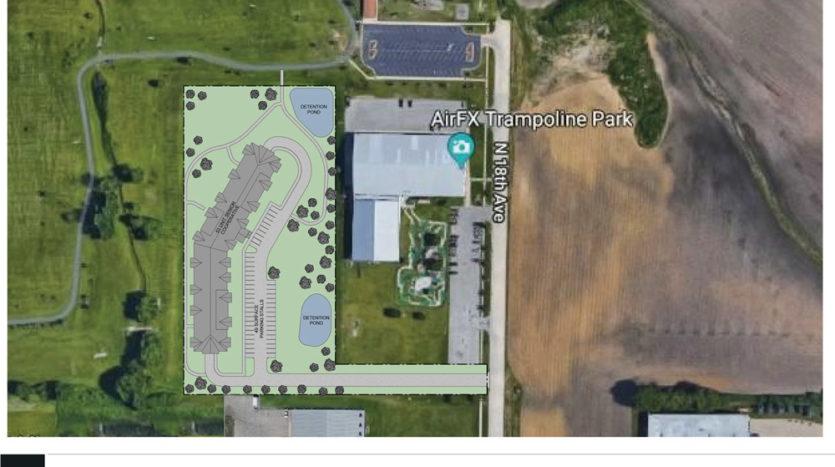 Prairie Gardens Hiawatha Site Plan