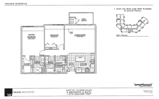 SW Unit E1 Floor Plan