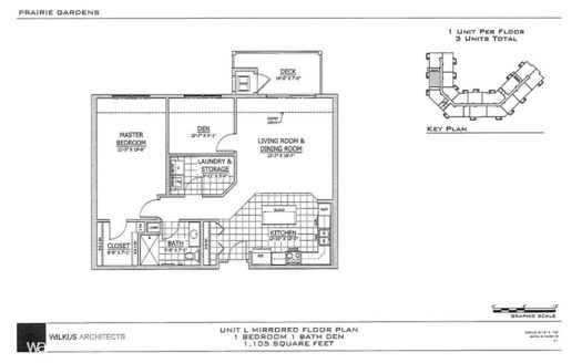 SW Unit L Floor Plan
