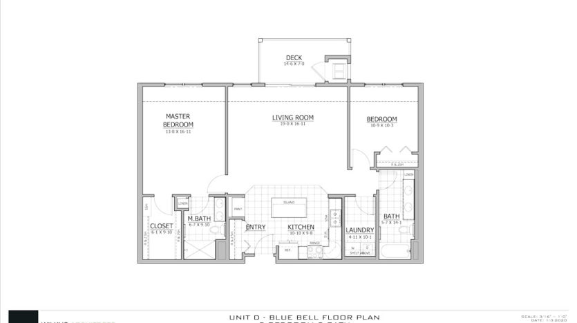 Blue Bell Floor Plan