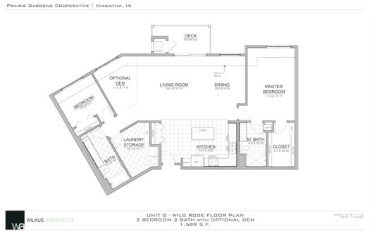 Wild Rose Floor Plan